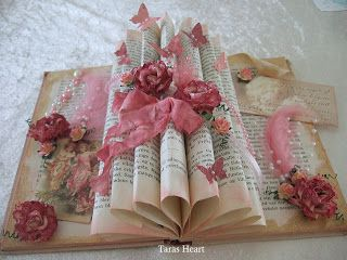 Tara's Heart: Pyntet bok / Decorated book