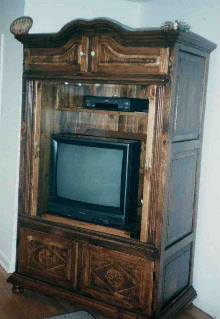Armoire Tv Stand With Images Corner Tv Tv Cabinets With Doors