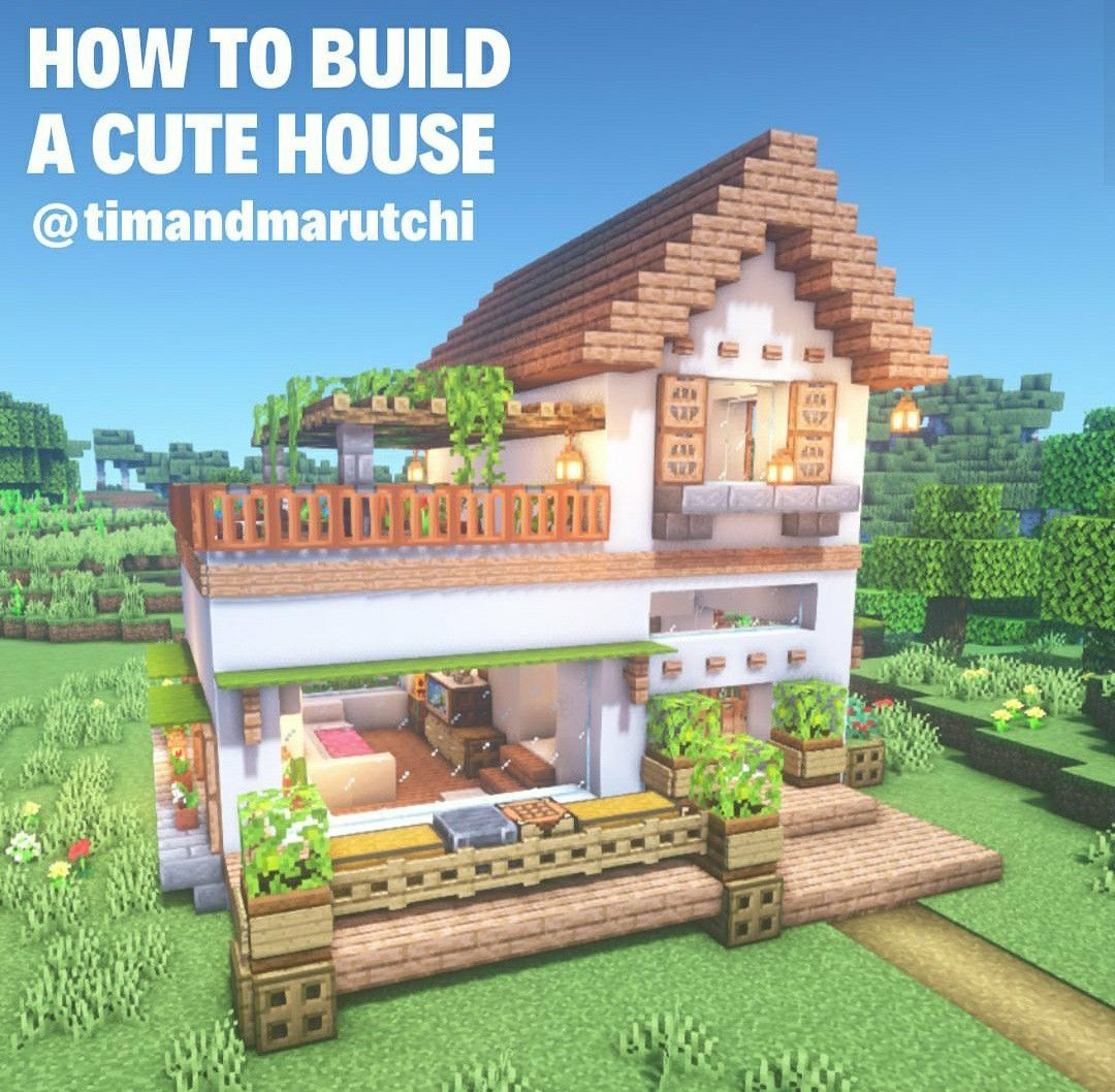 Cutest Build Of All Minecraft Houses In 2020 Minecraft Houses Easy Minecraft Houses Minecraft Cottage