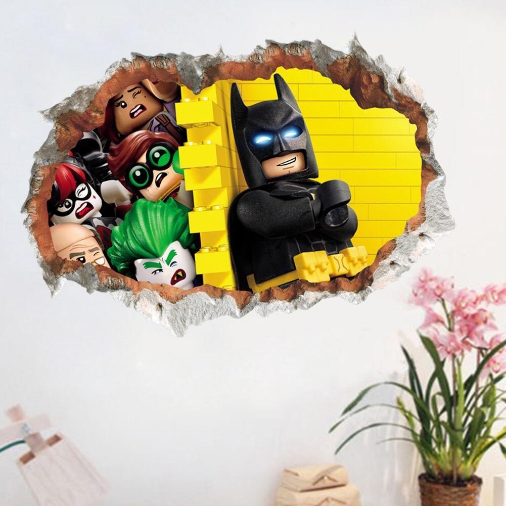 Lego Batman Wall Decals Wall Stickers Kids Wall Stickers