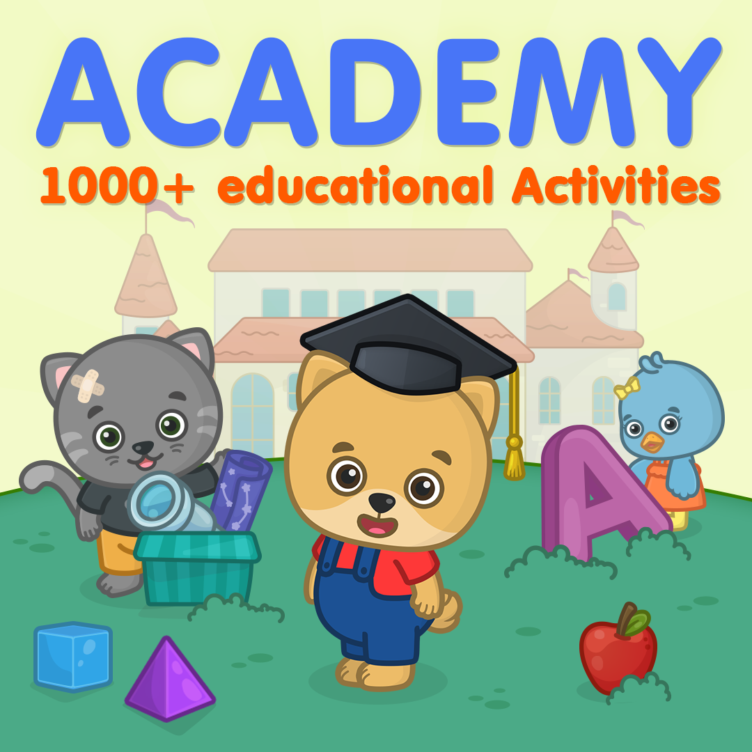 Learning Academy From Bimi Boo Kids Educational Apps For Toddlers Preschool Education Kids Learning