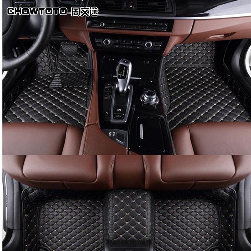 Chowtotocustom Floor Mats For Renault Koleos Scenic Fluence Laguna