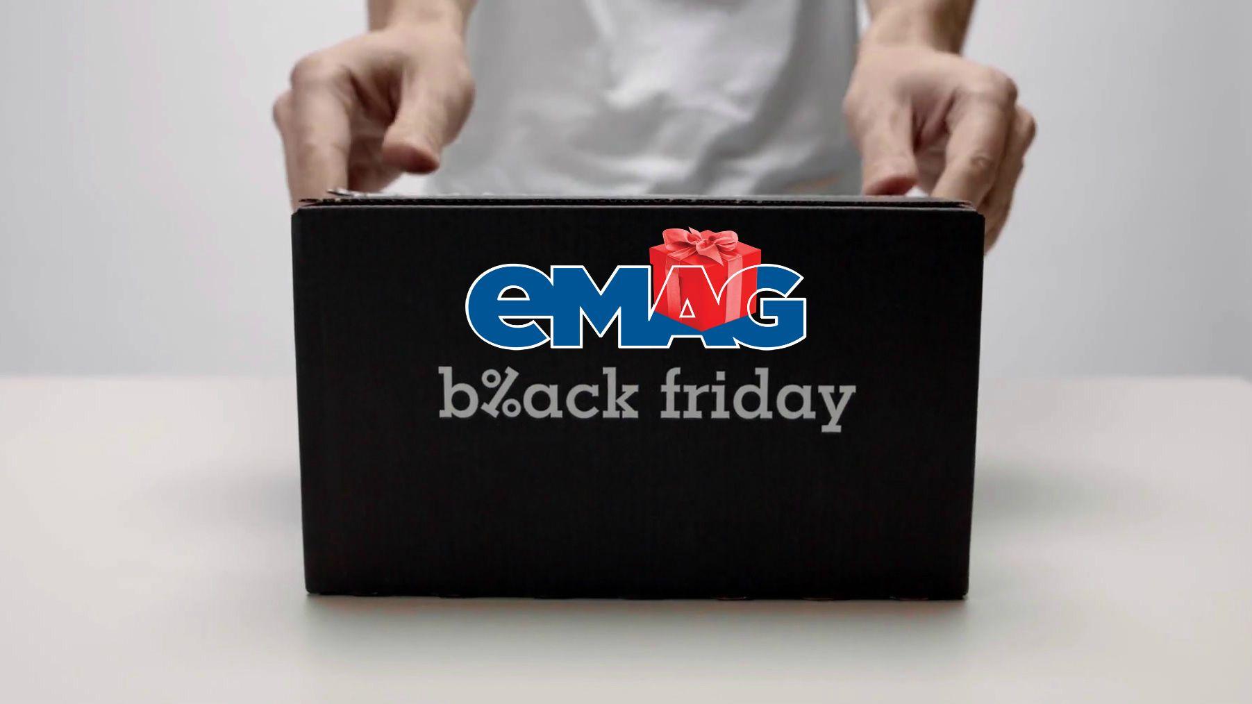 Reduceri eMAG de Black Friday cele mai bune oferte la