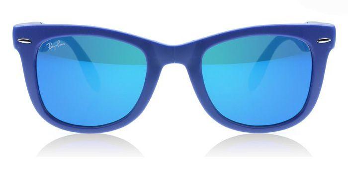 9bba25b99 ... purchase ray ban folding wayfarer rb4105 con lentes espejadas de  colores 197e9 f6665