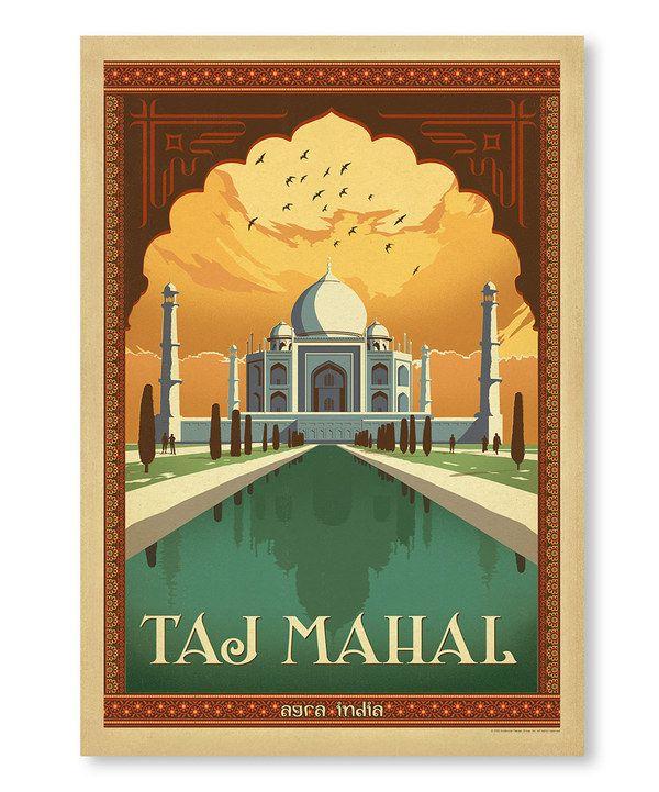 Taj Mahal\' Wall Art by Anderson Design Group | draw | Pinterest ...