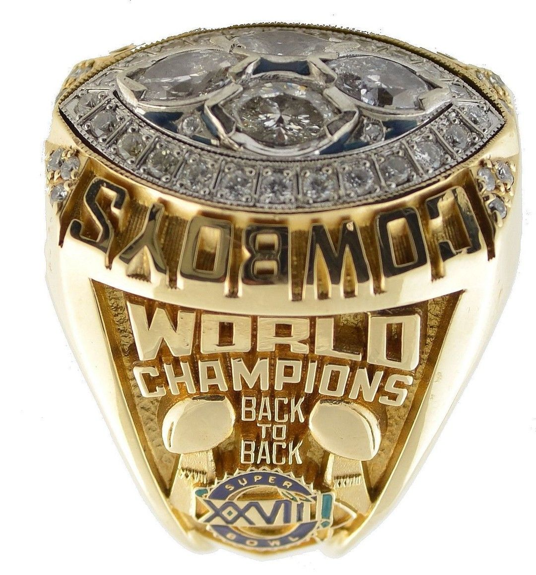 Dallas cowboys nfl super bowl championship ring for sale