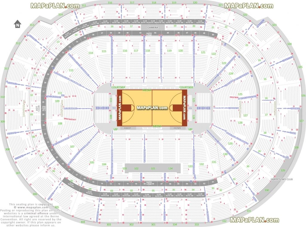 Bb T Center Camden Seating Chart