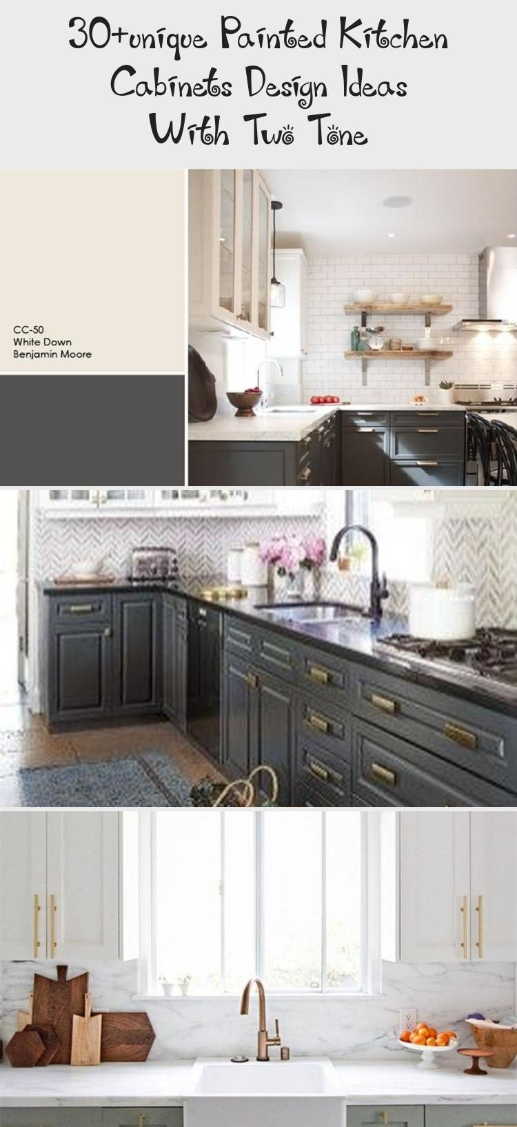30+unique Painted Kitchen Cabinets Design Ideas With Two ...