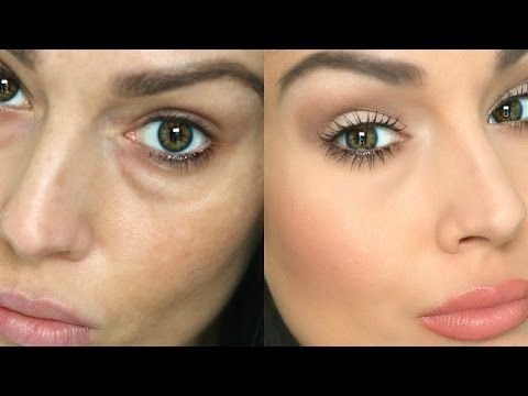 how to conceal under eye circles bags youtube make