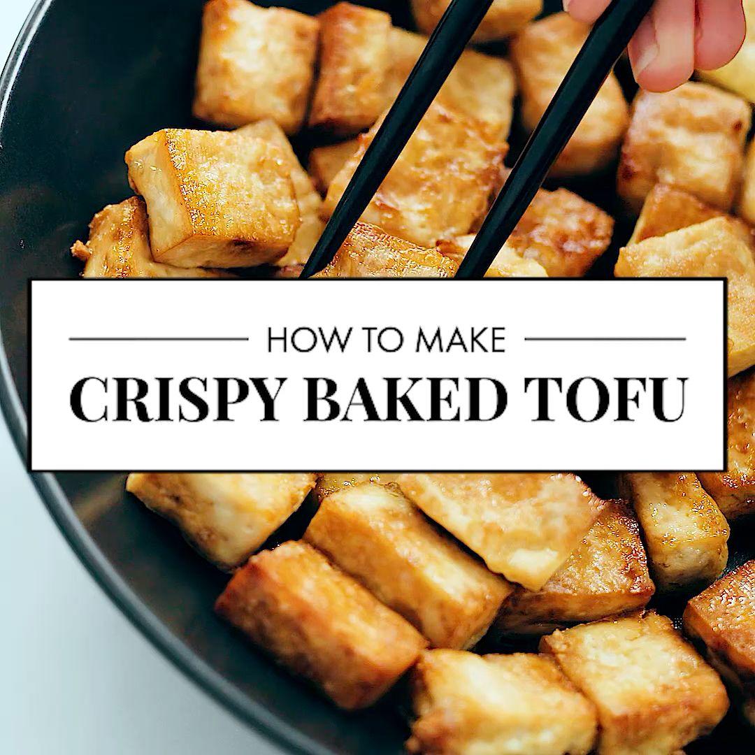 Photo of Crispy Baked Tofu