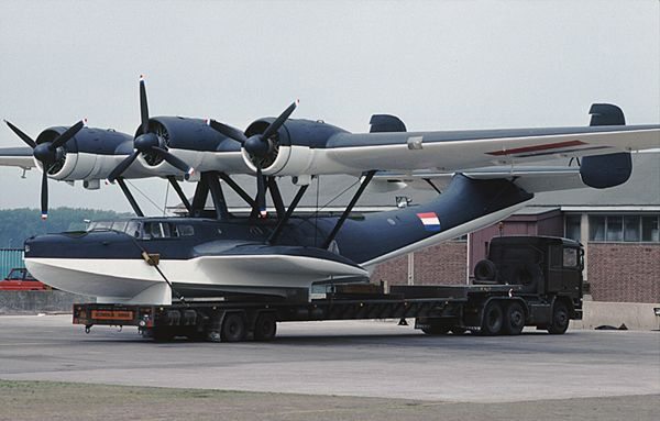 The Dornier Do 24 is a 1930s German three-engine flying boat designed by the Dornier Flugzeugwerke for maritime patrol and search and rescue.
