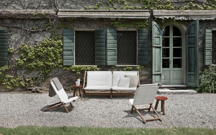 Gartenmöbel Set aus der Paraggi Kollektion Cabin Pinterest Cabin - gartenmobel design lounge