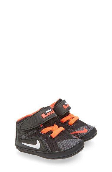 Nike LeBron XII Crib Shoe (Baby Boys) | Nordstrom