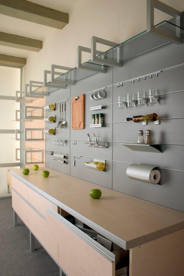 Lassen Sie Sich Von Folgenden Ideen Für Wandgestaltung Der Küche  Inspirieren! Die Gestaltung Der Wände Zeigt Sich Als Gestalterischen Rahmen  Und