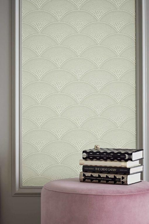papel-pintado-abanico-paredes papel pintado geométrico - geometric