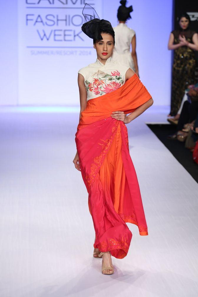 Summer/Resort 2014 | Indian bridal wear, Saree styles, Beautiful saree