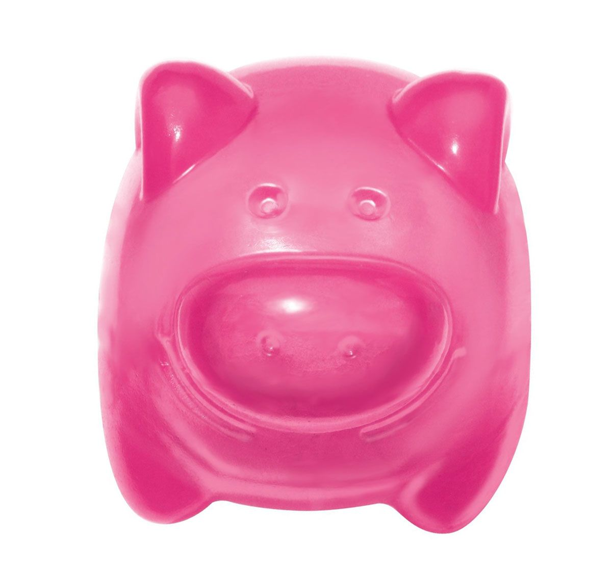 Kong Squeezz Jels Pig Dog Toy Medium The Kong Squeezz Jels Pig