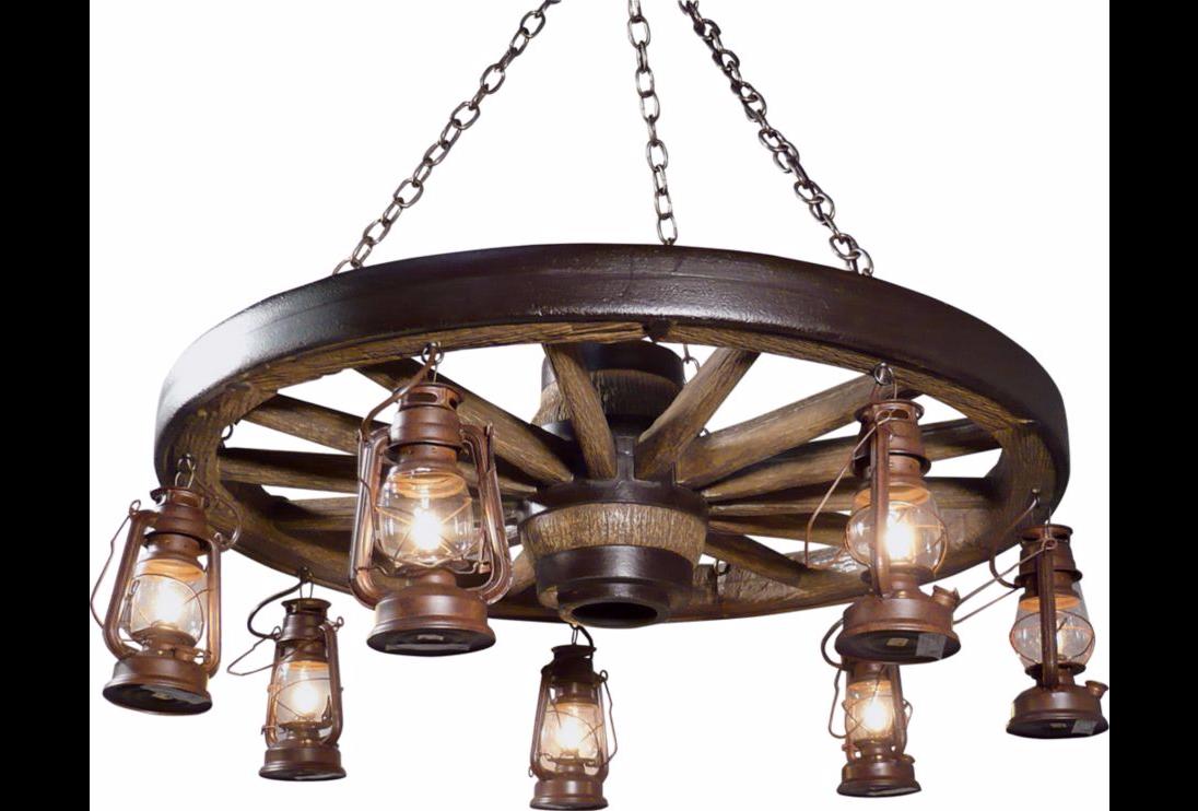 Afbeeldingsresultaat Voor Wagon Wheel Chandelier Canada