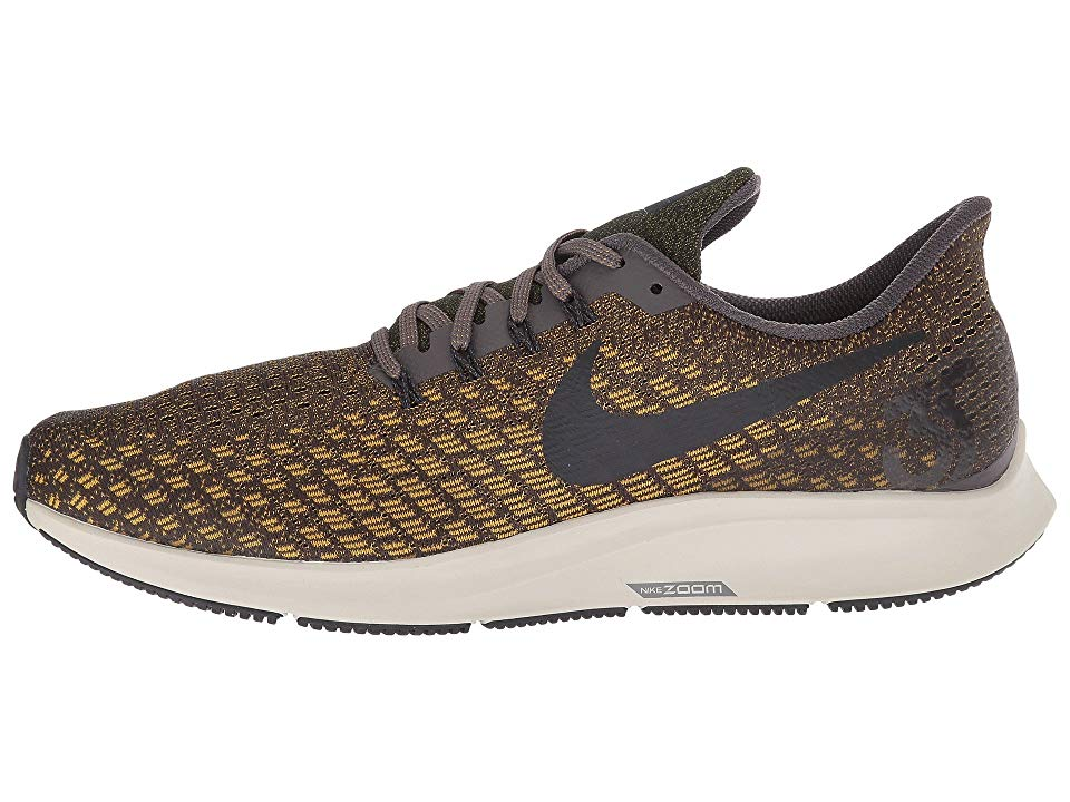 522a7e05a9593 Nike Air Zoom Pegasus 35 Men s Running Shoes Thunder Grey Oil Grey Dark  Citron