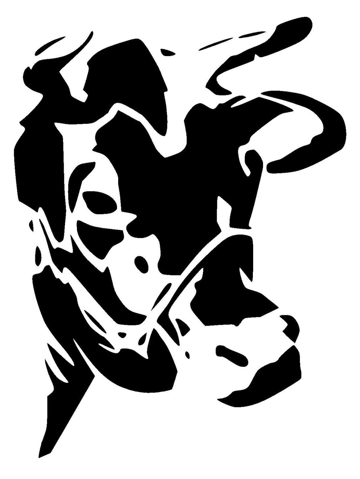 Steer Stencil Cow Stencil 1 Craft Fabric Furniture Glass Wall Art In