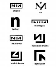 Nine Inch Nails Logo History Http Www Nin Wiki Logo History Nine Inch Nails Nine Inch Nails Lyrics Nail Logo