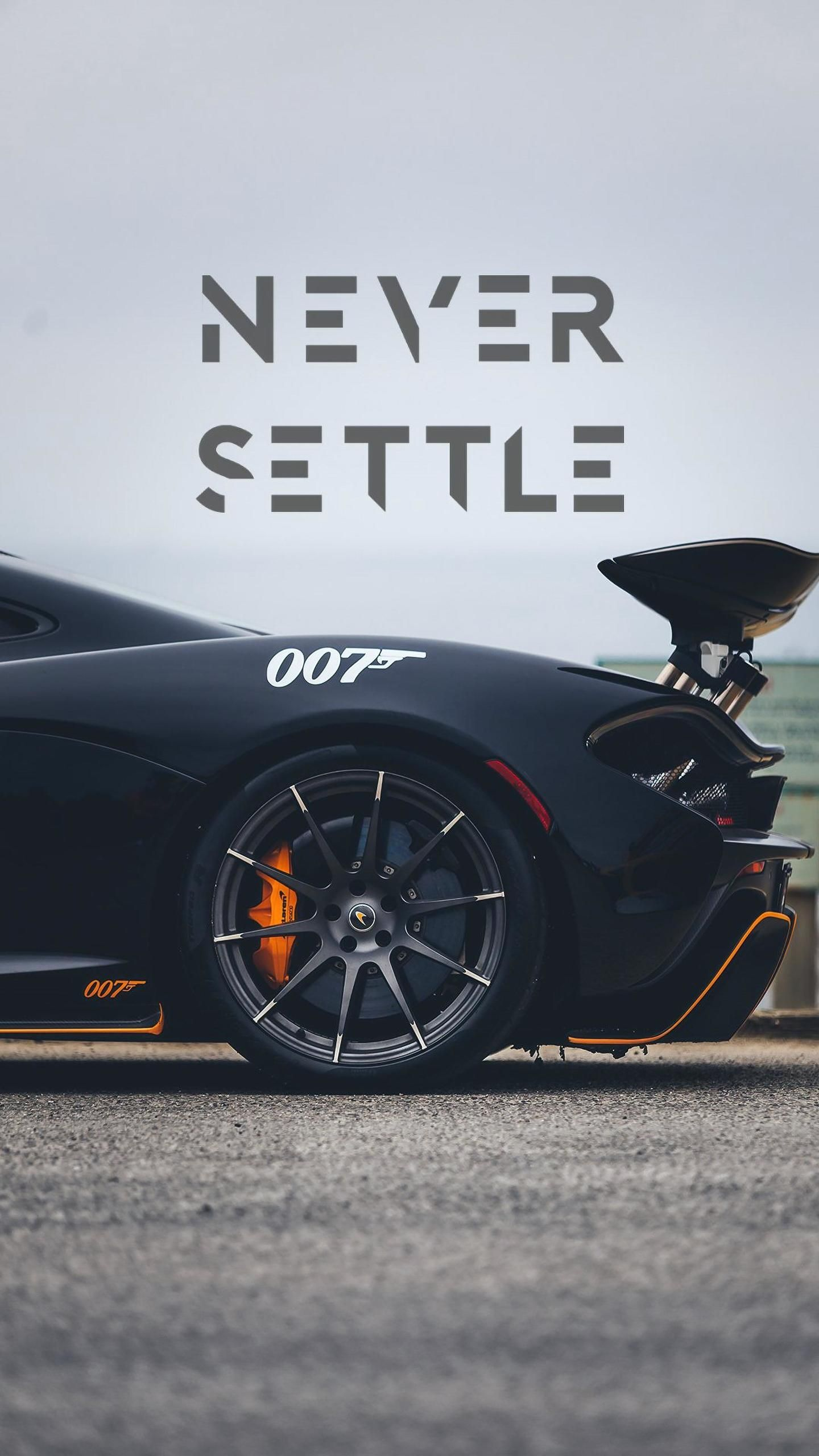 Skbn Never Settle Car Iphone Wallpaper Sports Car Wallpaper New Luxury Cars