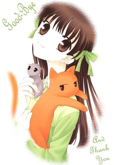 fruit baskets anime - tohru and keo and yuki