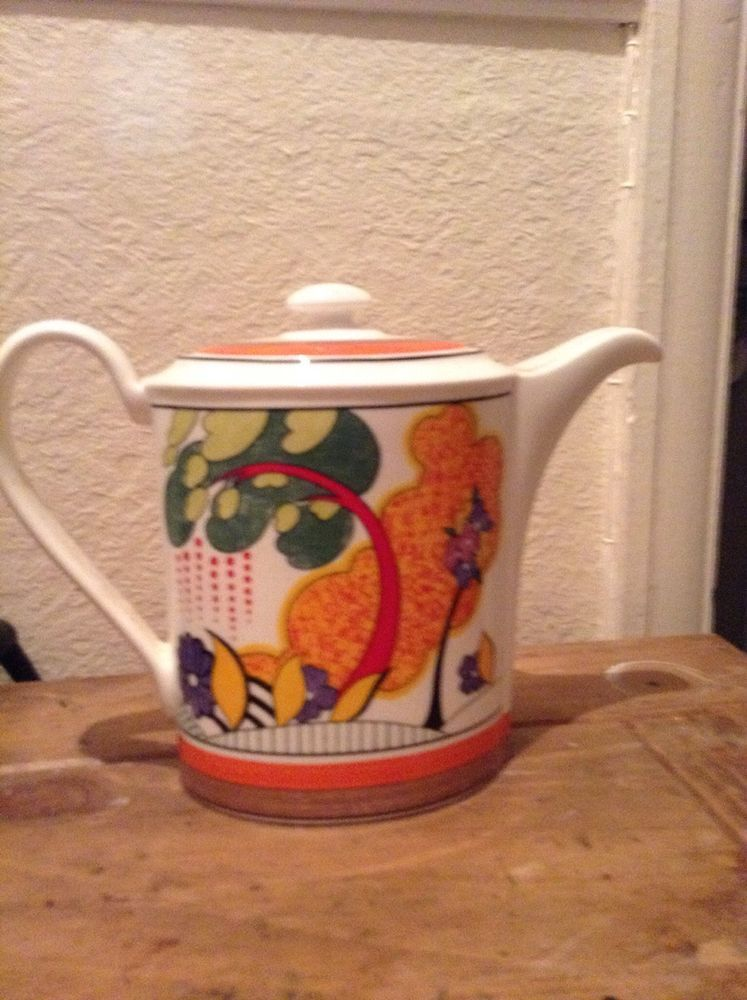 clarice cliff Teapot Limited Edition
