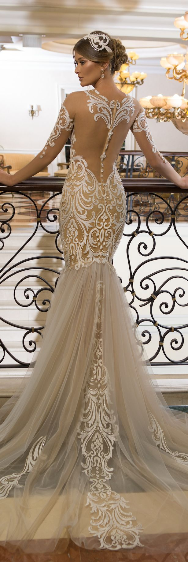 Wedding dress by naama u anat bridal the star in you collection