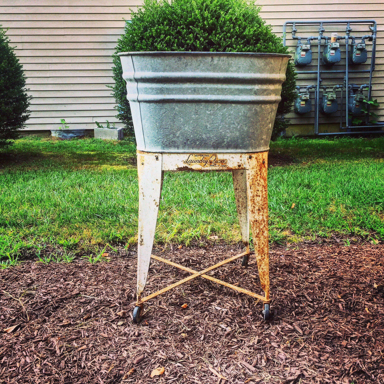 Galvanized Washtub Wash Stand Wash Stand Wash Tubs Rustic
