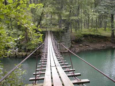 Hiking trails georgia swinging bridge you thanks