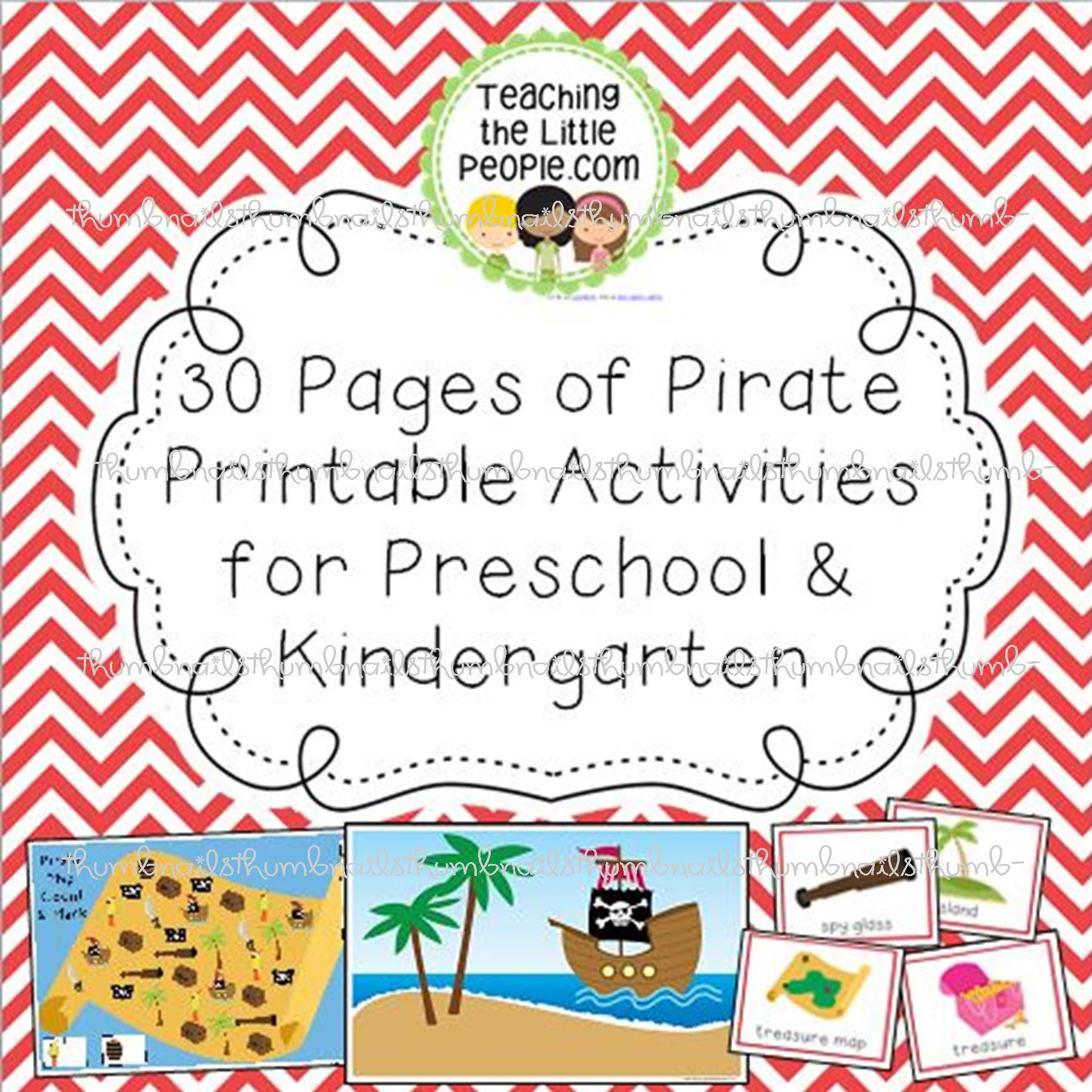 Pirate Preschool Bulletin Board