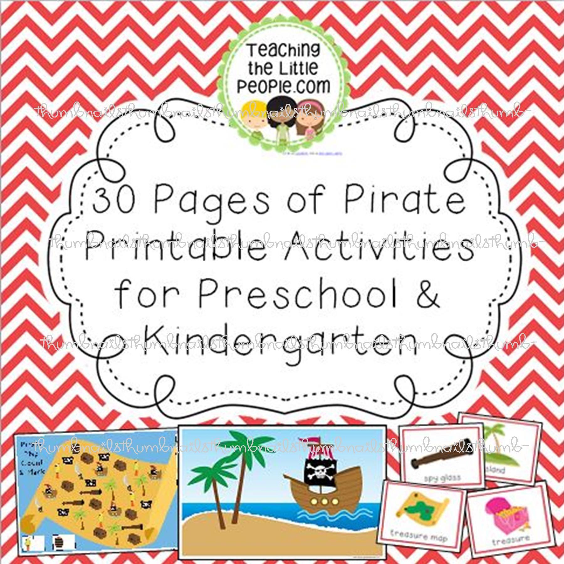 Pirate Preschool Bulletin Board