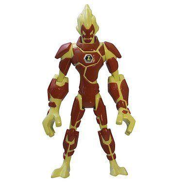 Ben 10 Omniverse Heat Blast Figure Ben 10 Ben 10