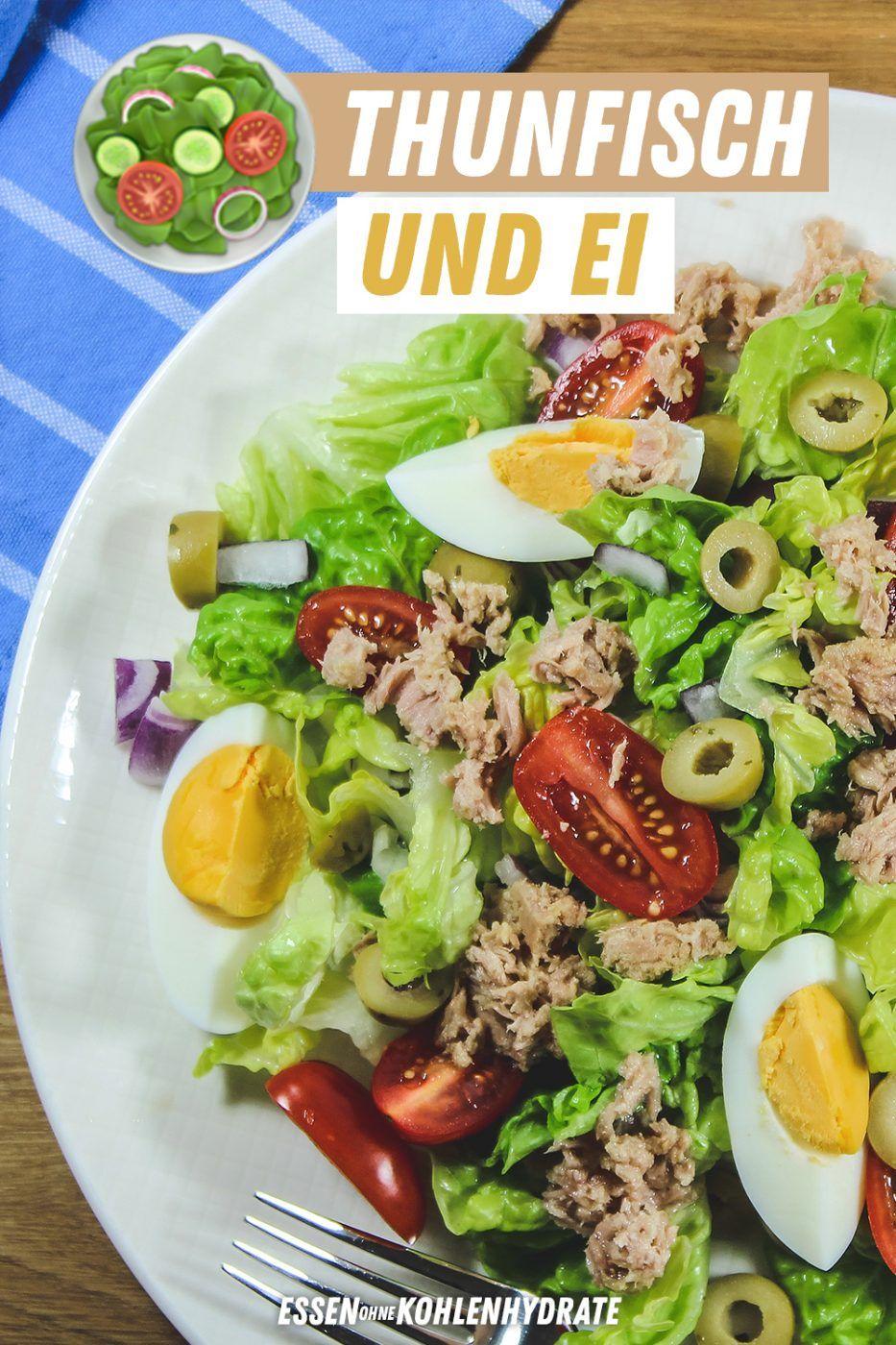 Salate zum Abnehmen mit Thunfischrezepten