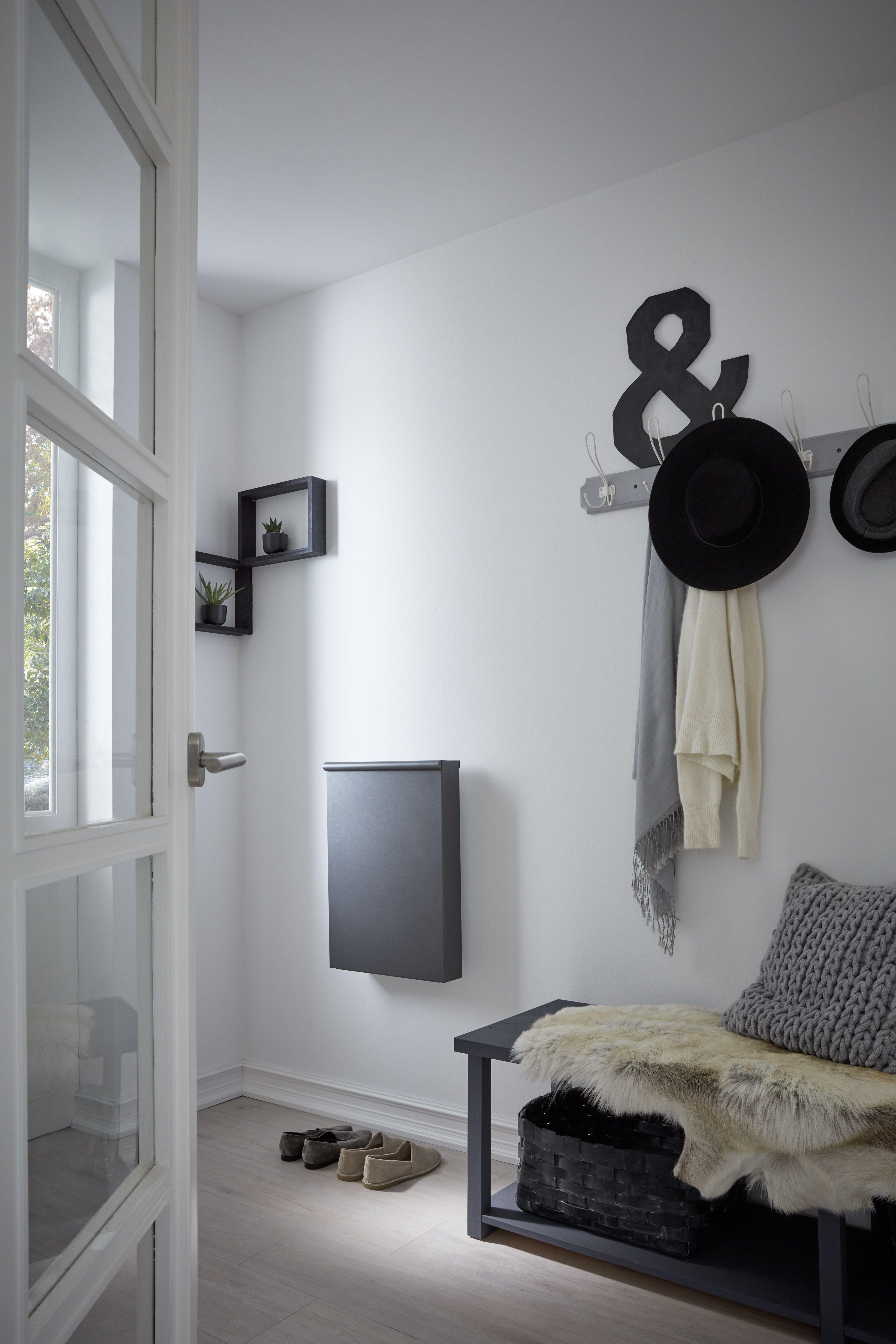 Unser Kleinster Heizkorper Perfekt Fur Den Eingangsbereich Elektroheizung Flur Eingangsbereich Willkommen Wohnzimmer Planen Kinder Zimmer Flachenheizung