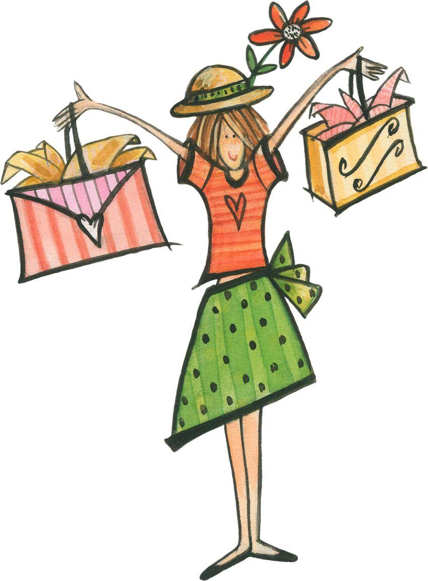 Gratitude For Shopping Ilustraciones Y Afiches Ilustraciones Dibujos