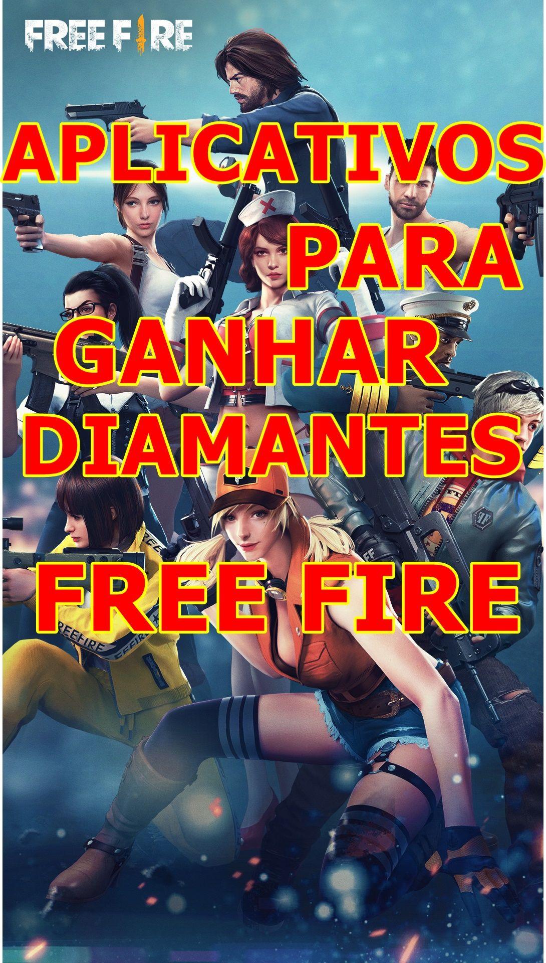 Aplicativo Para Ganhar Muitos Diamantes No Jogo Free Fire Jogos