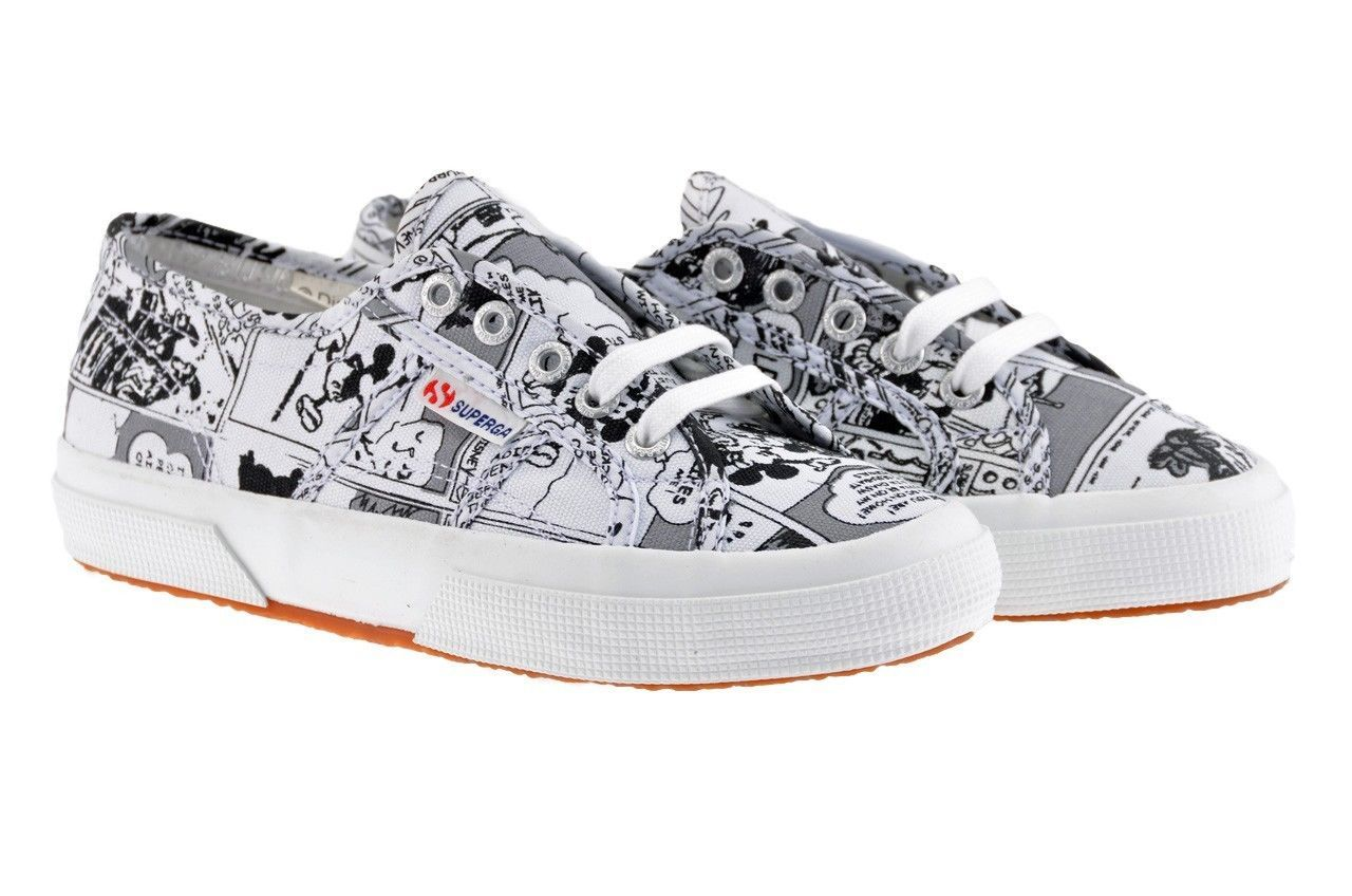 preview of authorized site nice cheap Superga x Disney - canvas Mickey Mouse shoes in 2019 ...