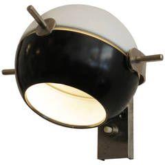 "Little ""Satellite"" Wall Lamp, circa 1960"
