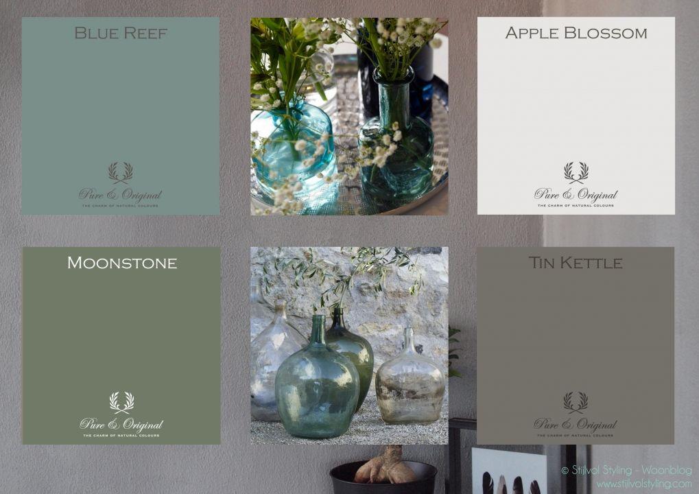 Kleur & interieur | Haal de natuur naar binnen met kalkverf ...