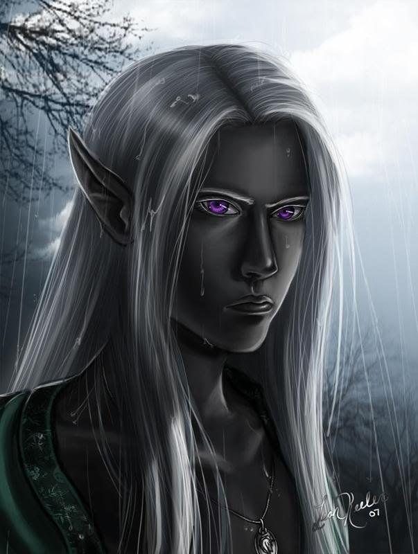 Картинки темные эльфы дроу
