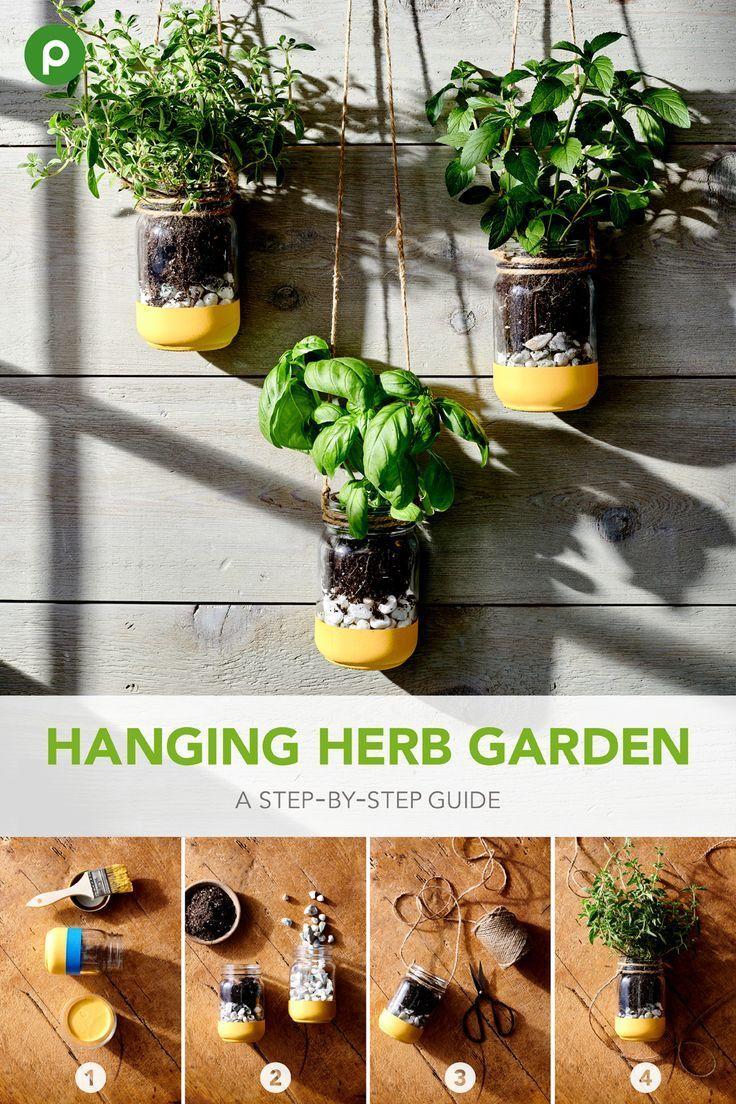 DIY Hanging Herb Garden   Publix Super Market