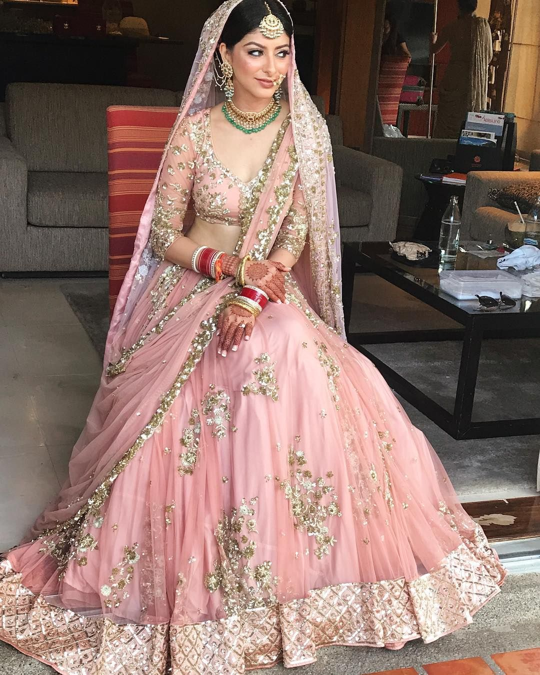 Image May Contain 2 People People Standing Bridal Lehenga Collection Indian Bridal Outfits Indian Bridal Dress,Womens Wedding Dresses Casual