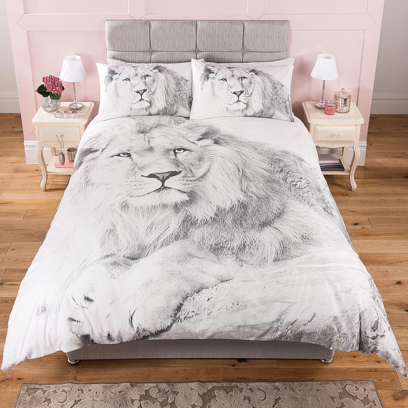 George Home Fantasy Lion Duvet Range Bedding Asda Direct