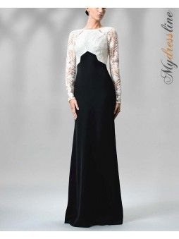 Tadashi Shoji - Gretel Dotted Lace Embroidered Gown
