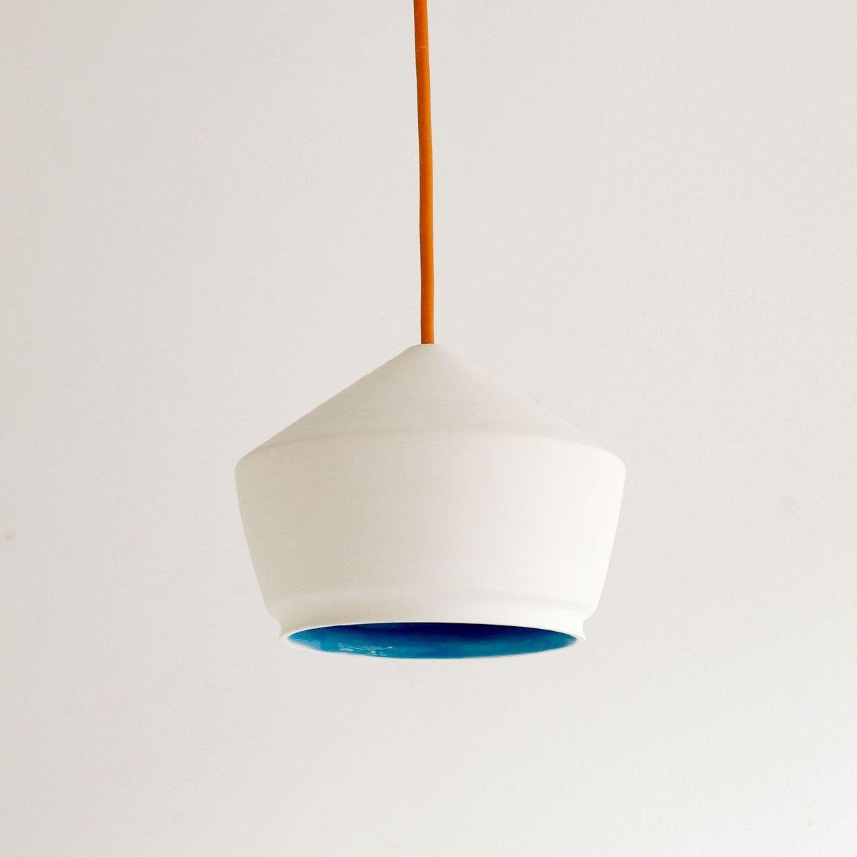 Ceramic Pendant Light Series 5 Via Etsy