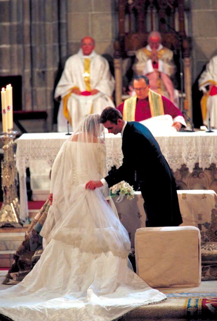 Princess Cristina Of Spain Royal Wedding In 1997