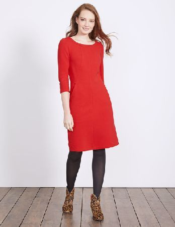 55c7171b853 #Boden Hannah Jersey Dress Post Box Red Women Boden, #Decisions, decisions  - with a whole rainbow of colours (and a denim option), the only problem  with ...
