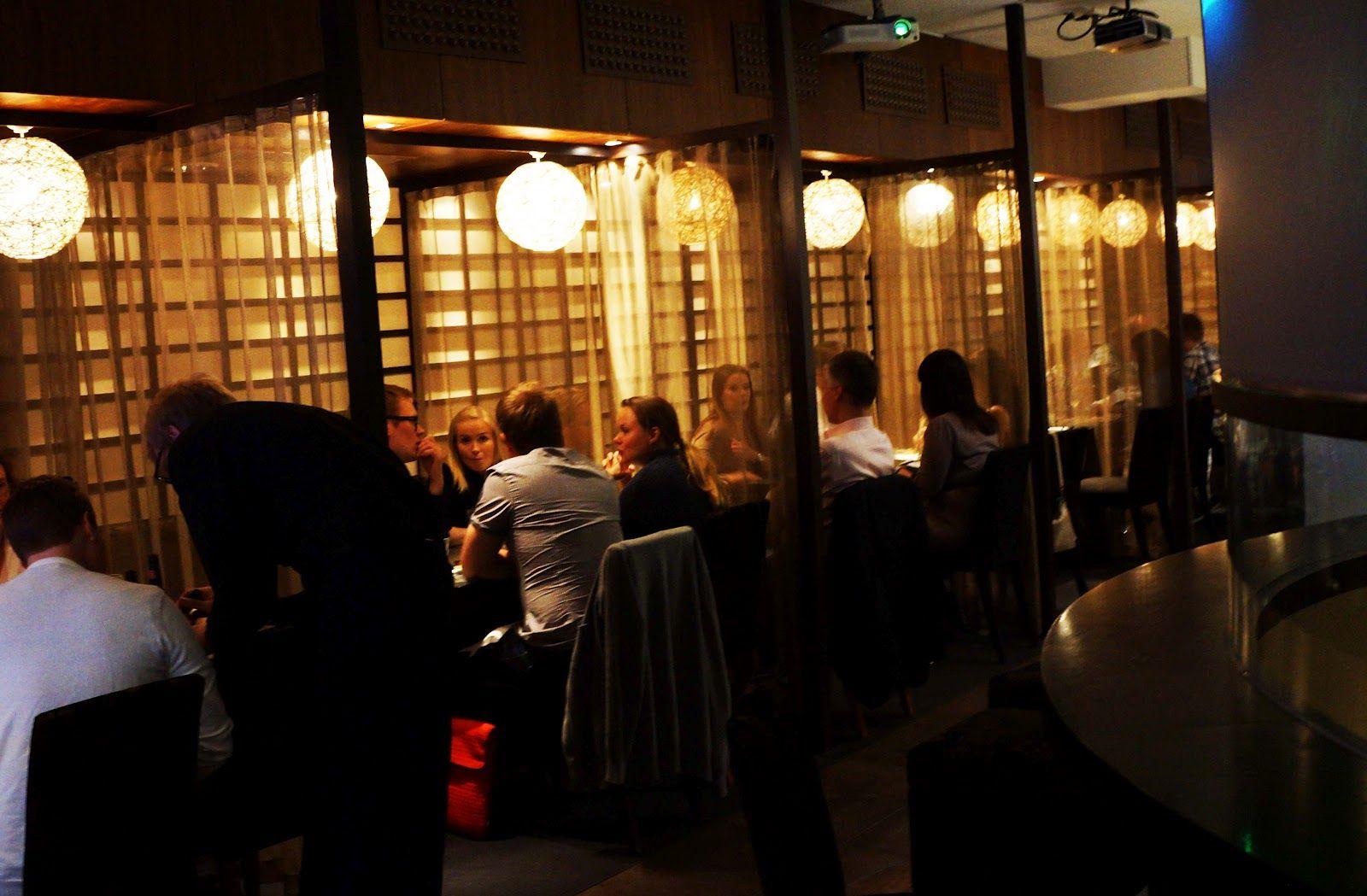 Tokyo55 - takuuvarmaa japanilaista Töölössä 2.4.2013. Pikkuveljen suosikki.
